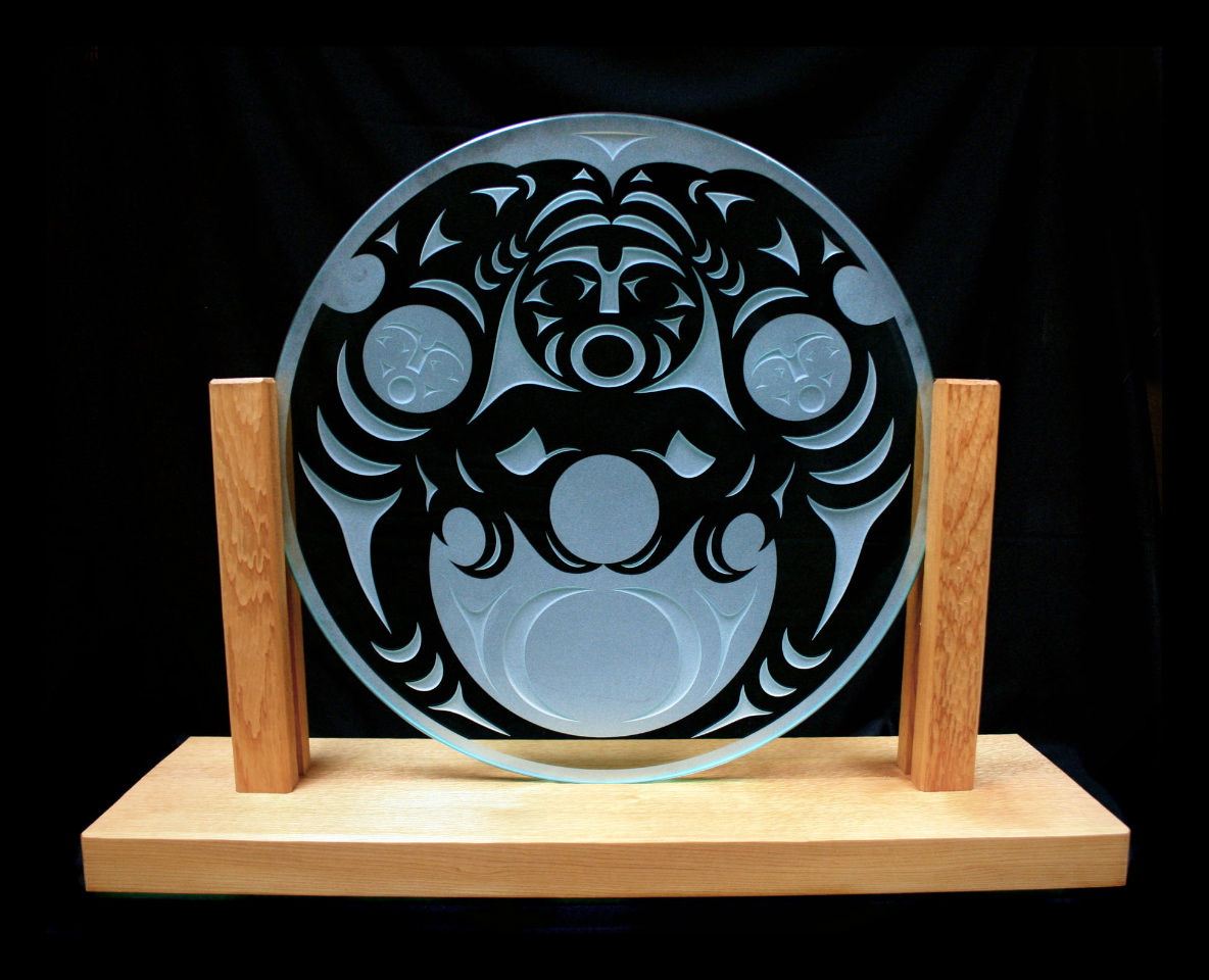 TSF Award glass plate with stand (1).jpg